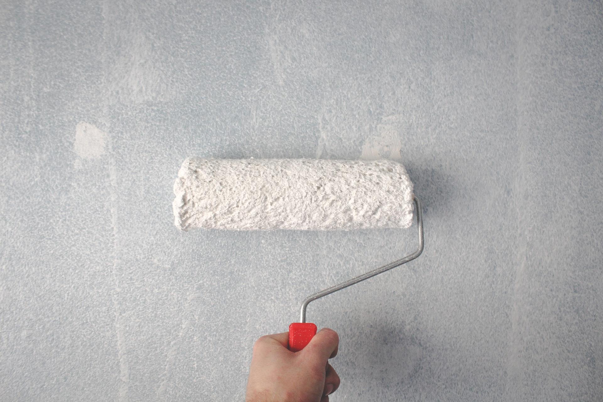 kwast muur verven