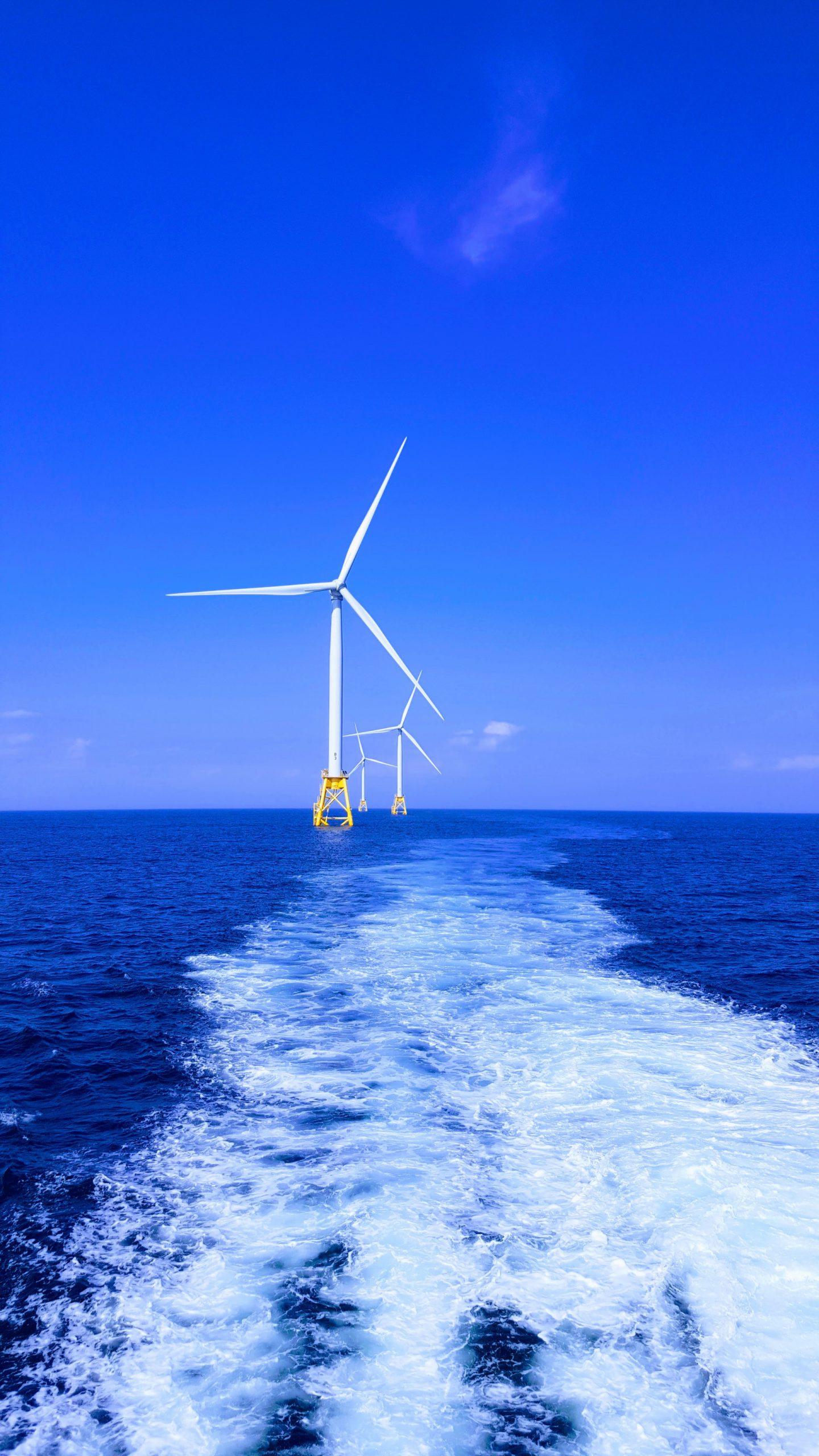 duurzame windmolen op zee